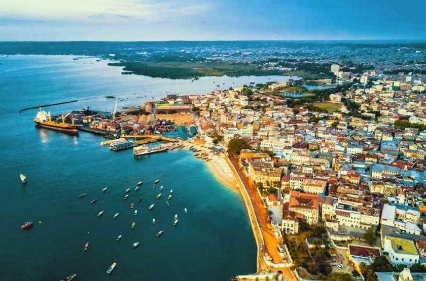 Port de Stone Town, Zanzibar