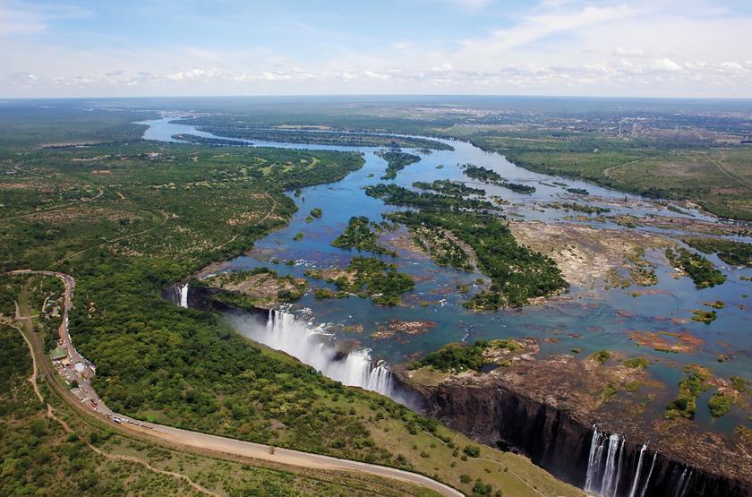 Zimbabwe - Vic Falls - Chutes Victoria
