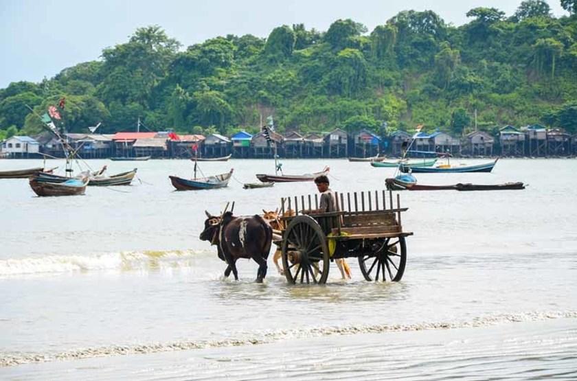 Pêche dans le Golfe du Bengale, Birmanie