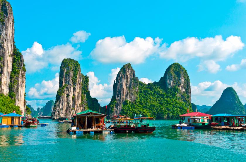 Bay d'Halong, Vietnam