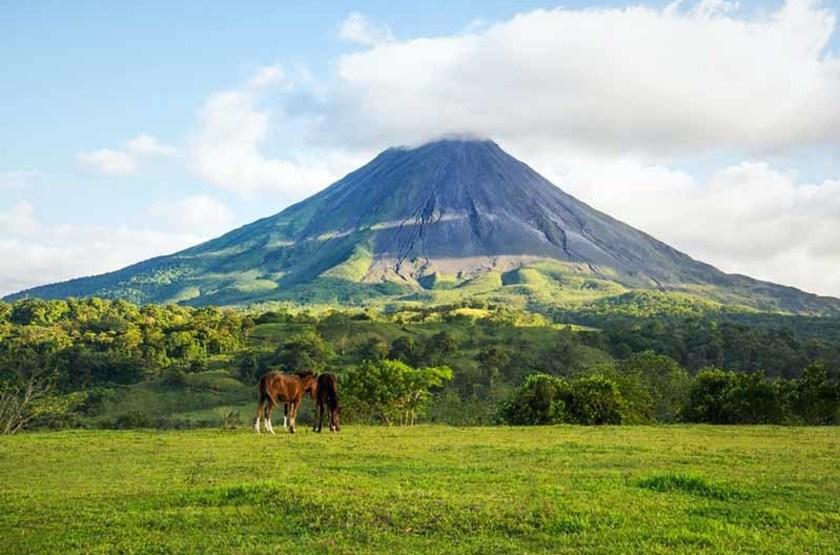 Circuit au Costa Rica, Volcan Arenal