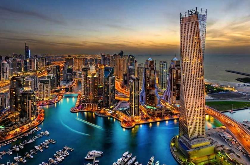 Marina, Dubaï