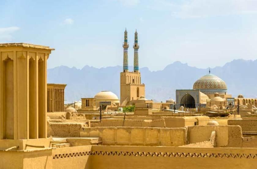 Tour des vents, Yazd, Iran