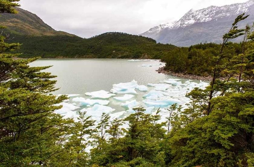Glacier Balmaceda du Parc National Bernardo O'Higgins, Chili
