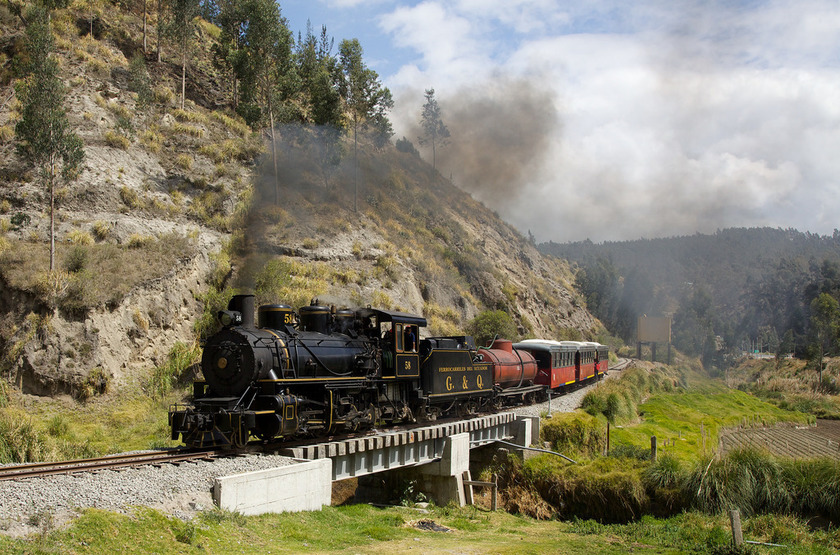 Train des Andes, Nariz del Diablo, Equateur