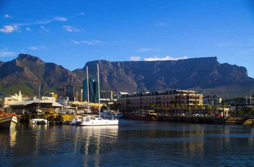 Victoria and Albert waterfront, Le Cap, Afrique du Sud