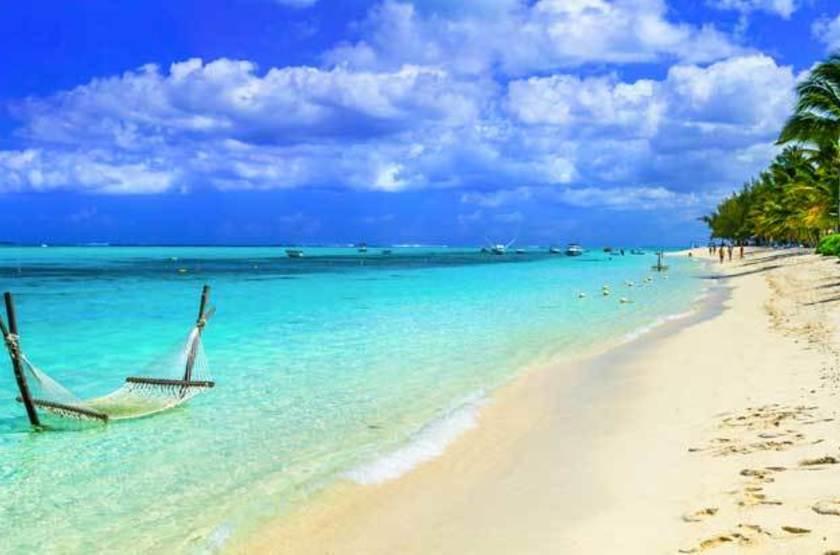 Eaux turquoises de l'Île Maurice