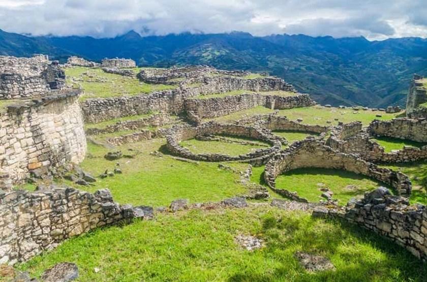 Ruines de la forteresse de Kuelap à Chachapoyas, Pérou