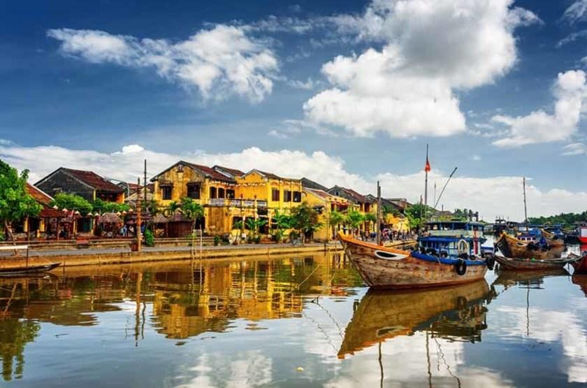 Rivière Thu Bon, Hoian
