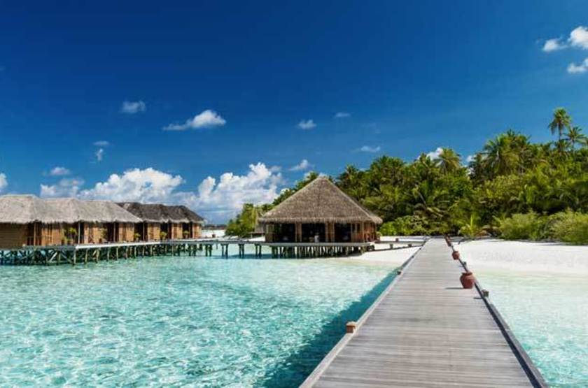 Bungalow sur pilotis, Maldives