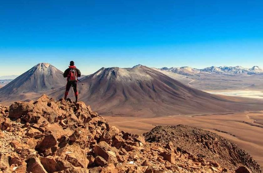 Volcan Licancabur, San Pedro de Atacama, Chili