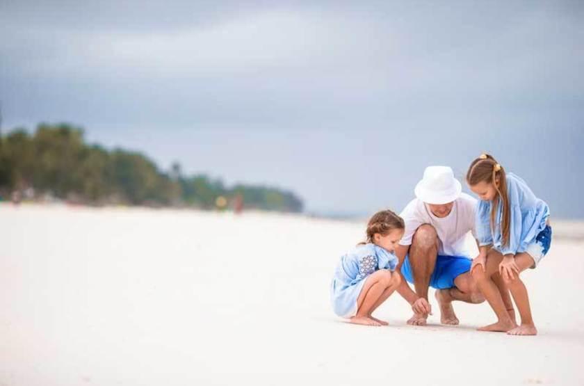 Séjour balnéaire en famille