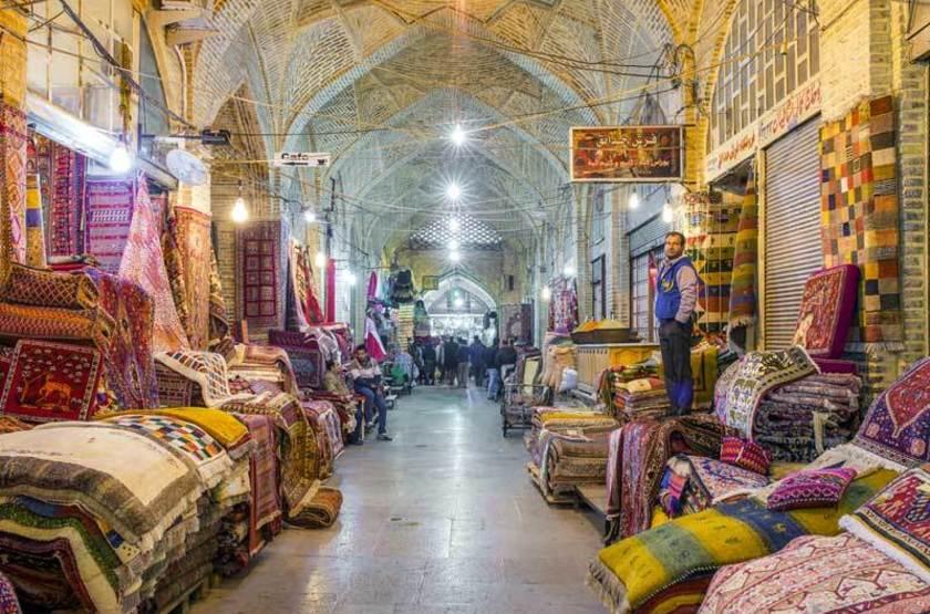 Bazar Vakil, Shiraz, iran