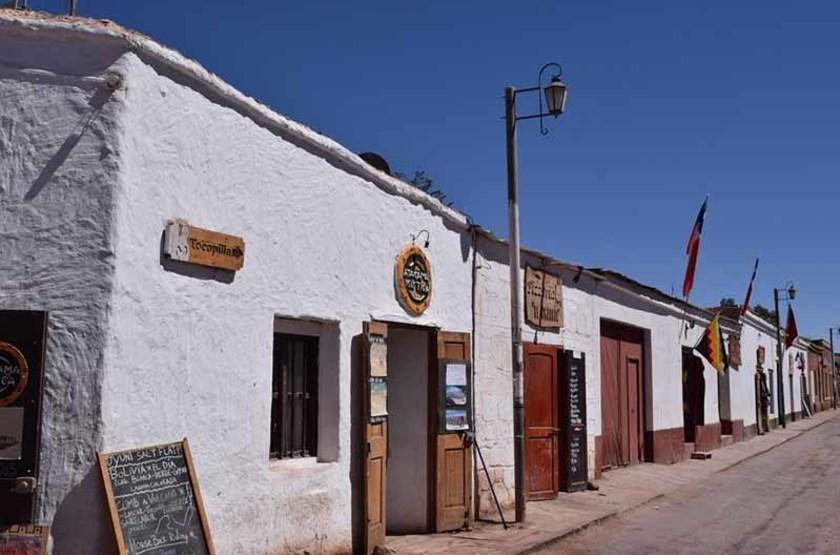Rue de San Pedro de Atacama, Chili