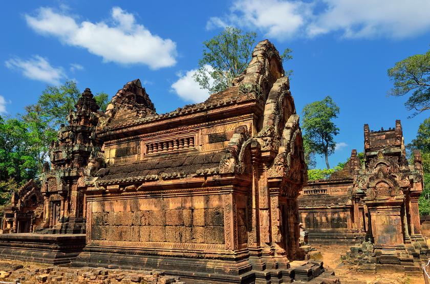 Temple Banteay, Angkor, Siem REap, Cambodge