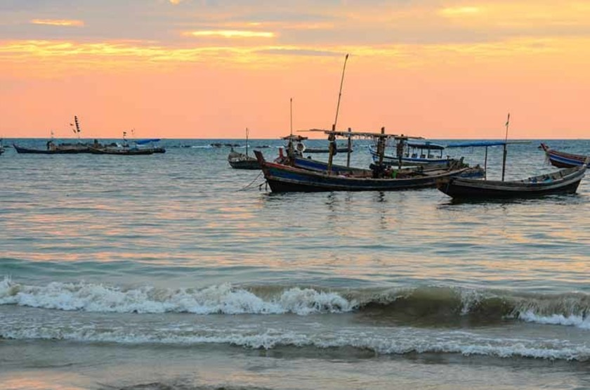 Plage Ngapali, Birmanie