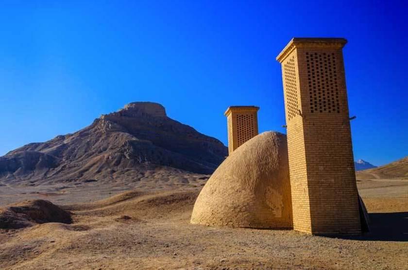 Tours du silence, temples Zoroastrien, Iran