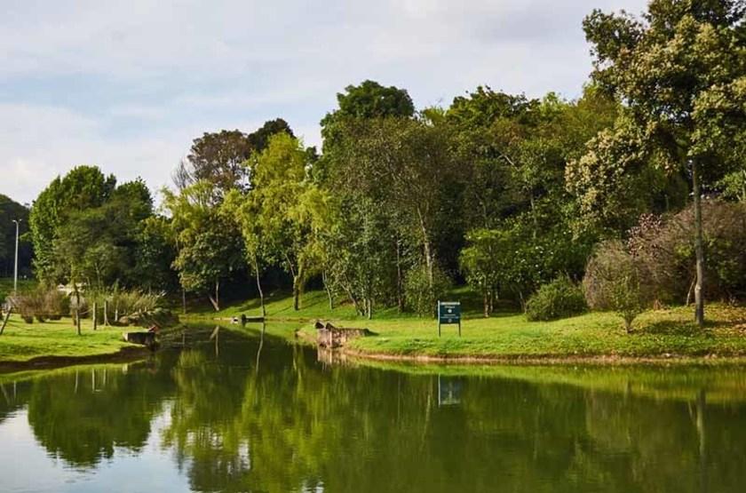 Parc Simon Bolivar, Bogota, Colombie