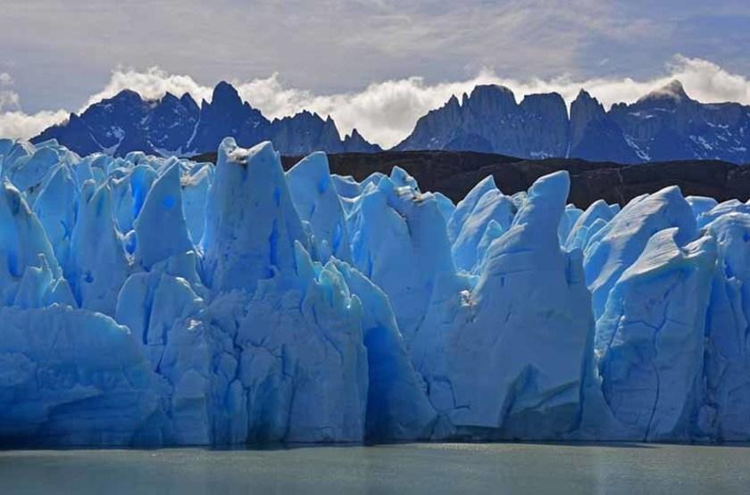 Glacier Gris, Parc National Torres Del Paine, Patagonie