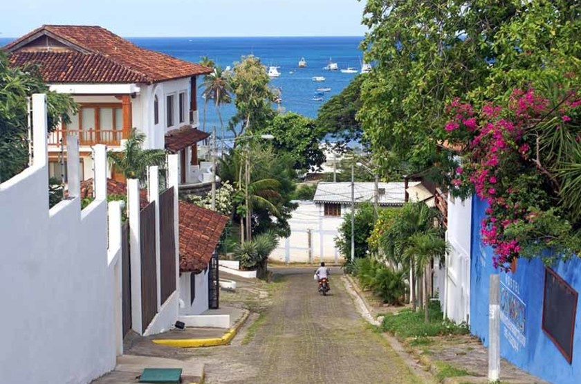 Rue de San Juan Del Sur, Nicaragua