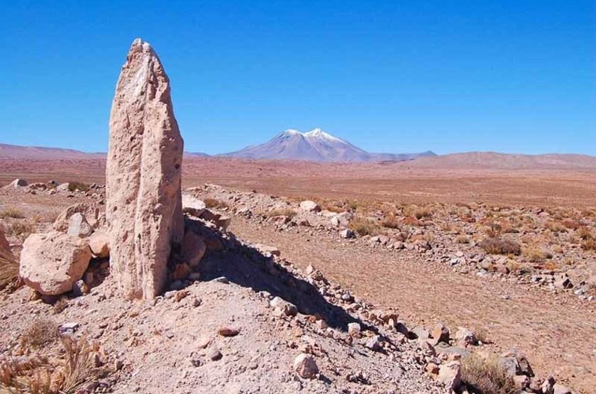Formation rocheuse du désert d'Atacama, Chili