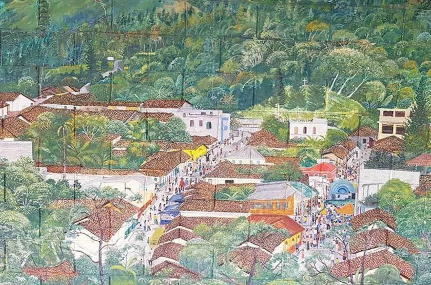 Fresque murale - El Salvador