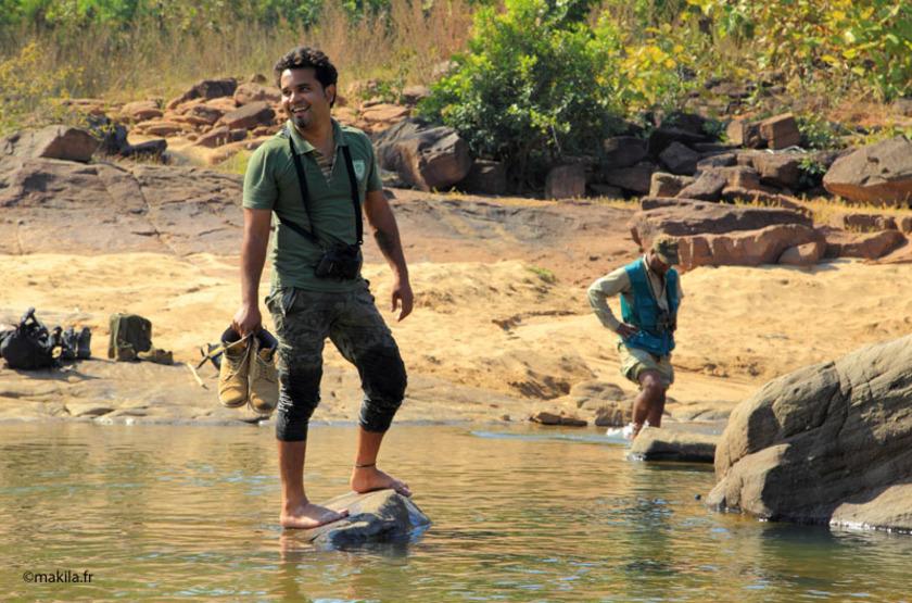 Safari animalier dans le parc de Satpura, l'Inde généreuse