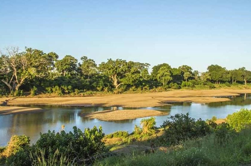 Rivière Shingwedzi, Parc National Kruger, Afrique du Sud