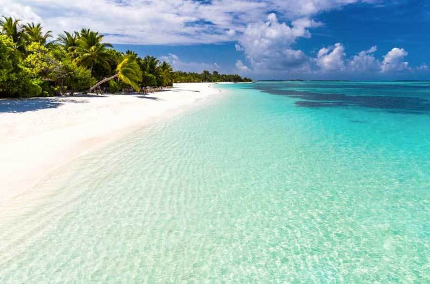 Plage, Maldives