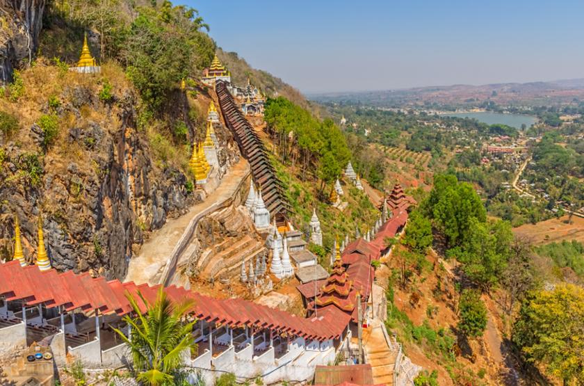 Pindaya, Myanmar, Birmanie