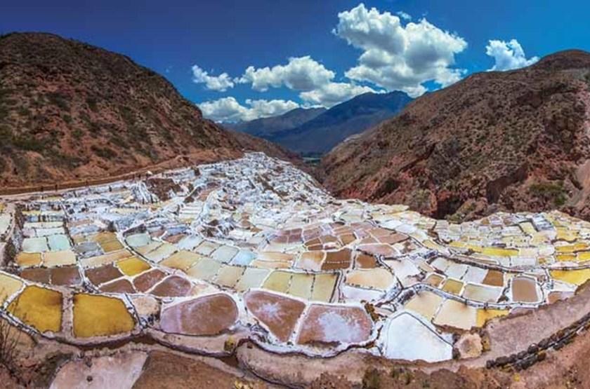 Marais salants, Cusco, Pérou