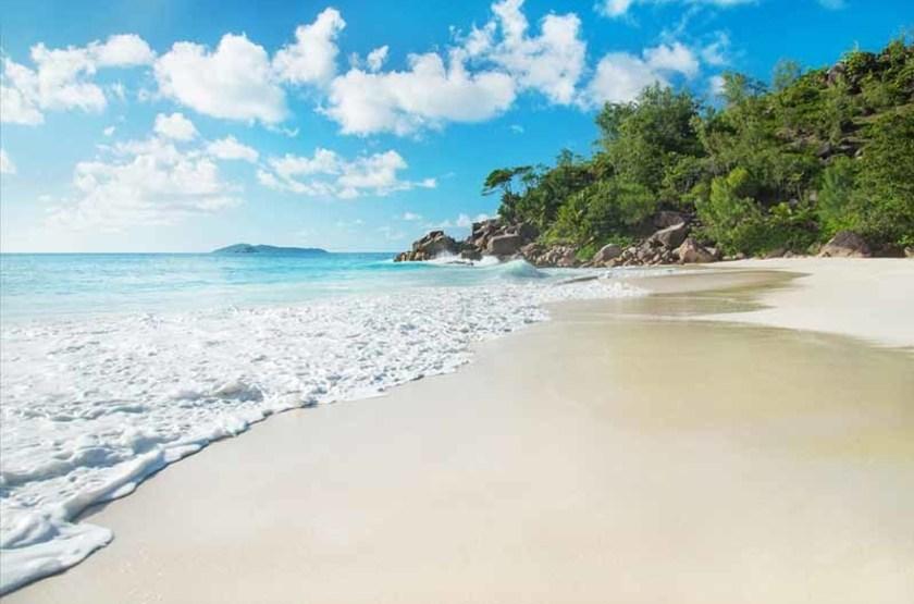 Anse Georgette de l'île Praslin, Seychelles