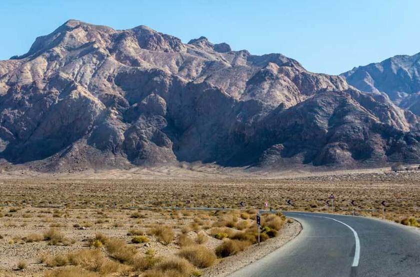 Montagnes de Yadz, Iran