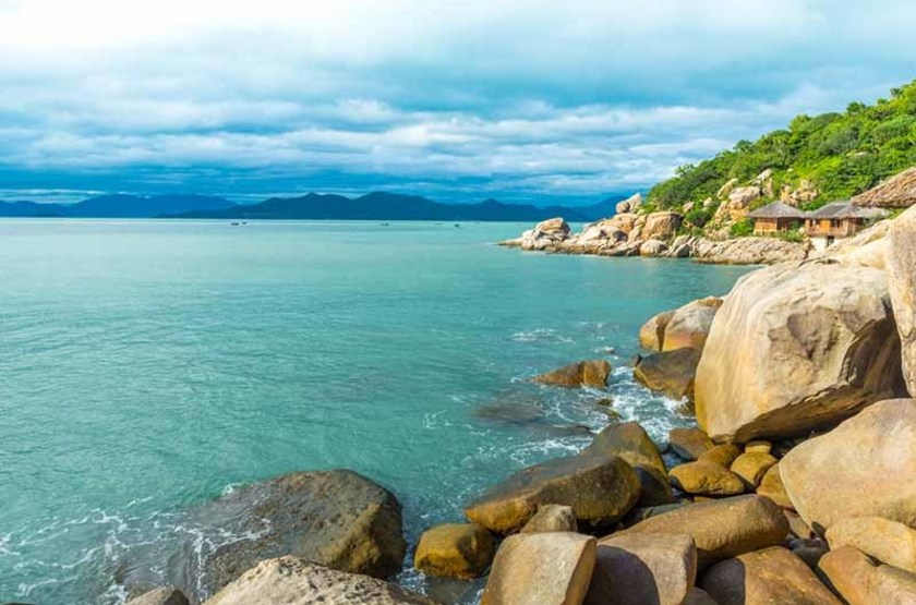 Ninh van bay, Vietnam