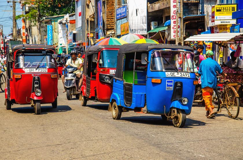 Tuk Tuk à Colombo, Sri Lanka
