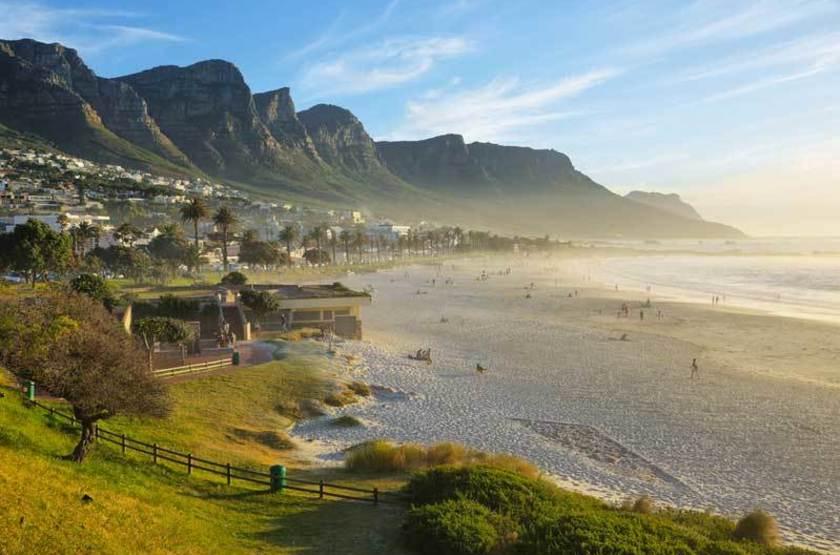 Plage de Camps Bay, Afrique du Sud