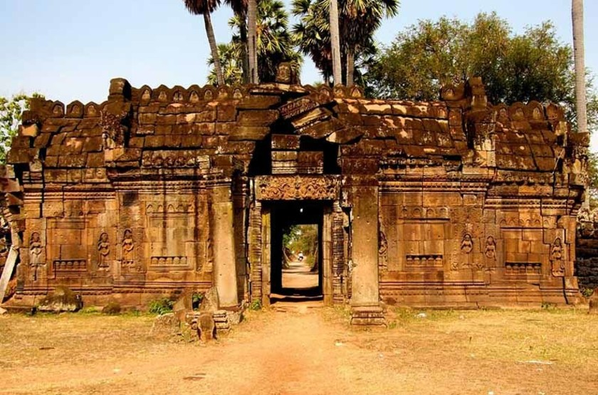 Temple Wat Nokor, Cambodge