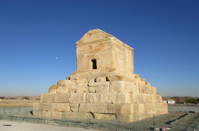 Tombeau de Cyrus le Grand à Pasargades, Iran