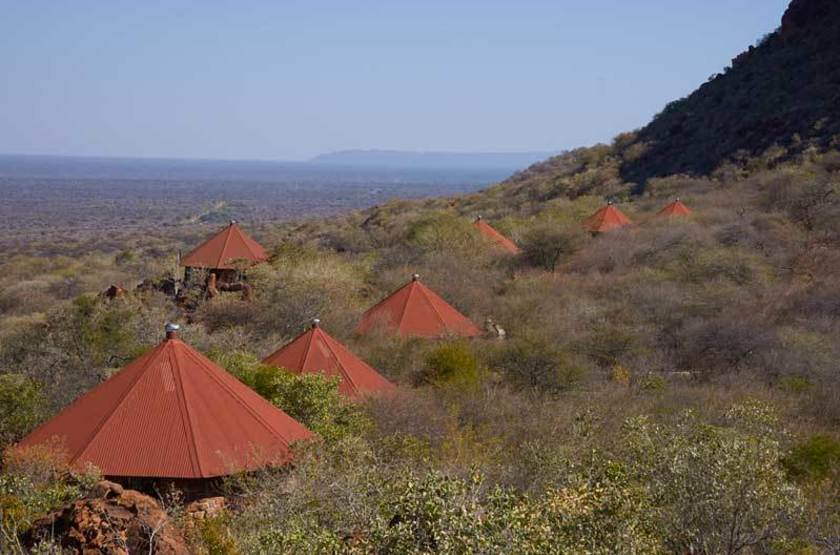 Lodge dans le Parc National du Waterberg, Namibie