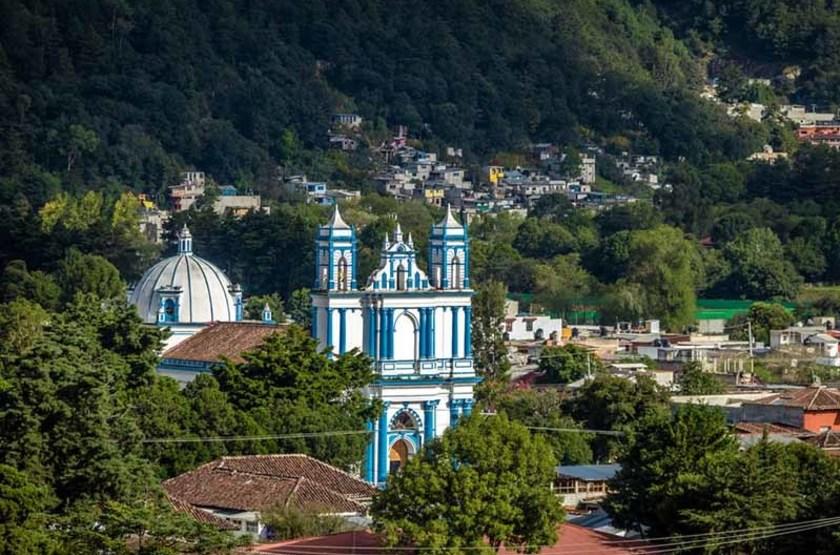 Eglise Saint François à Chiapas, Mexique