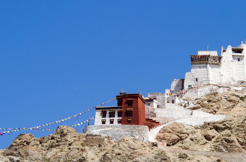 Monastére LehNamgyal, Tsemo, Ladakh, Inde-