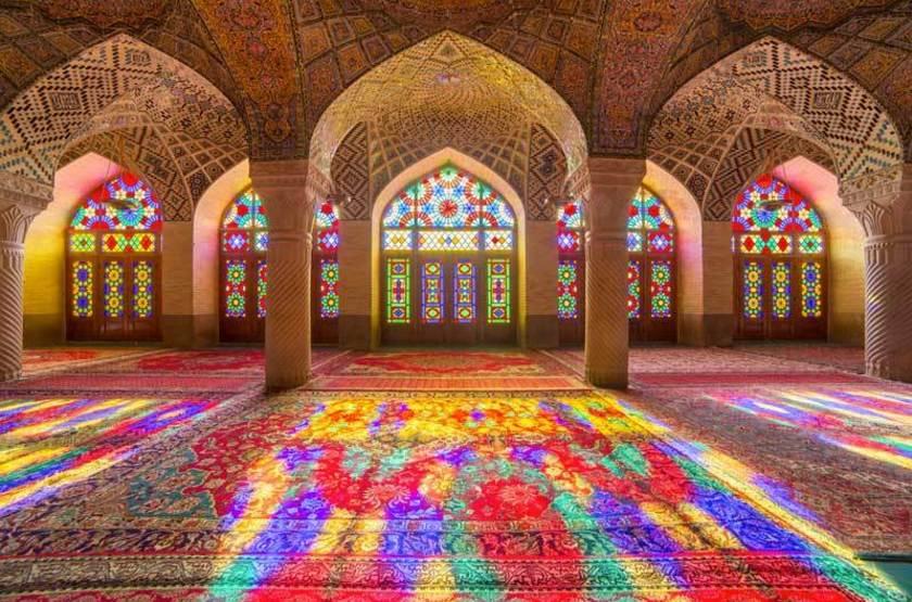 Mosquee Cheikh Lotfallah dite mosquée rose, Ispahan, Iran