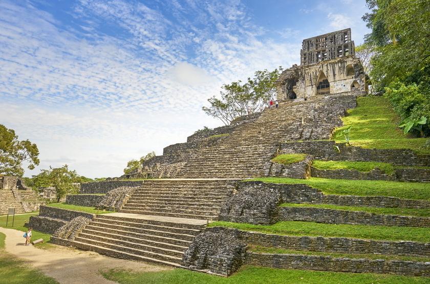 Autotour au Mexique, temple de la Croix