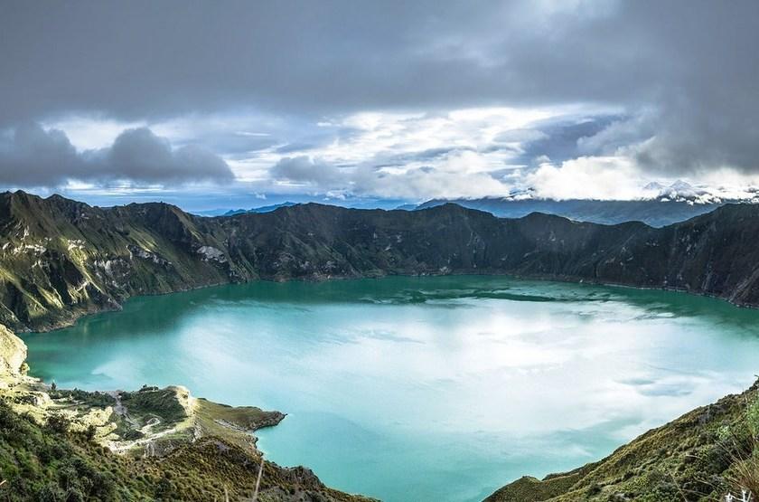 Lac de Quilotoa, Equateur