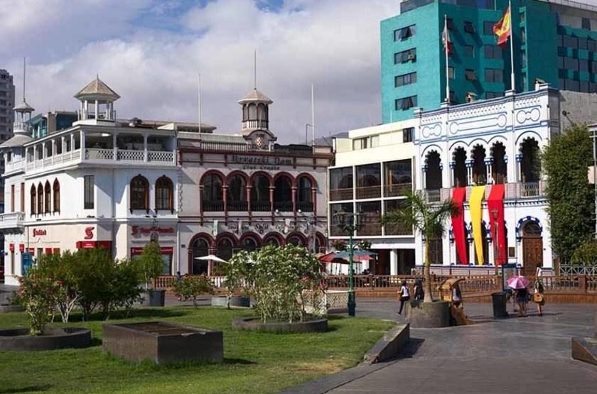 Place Prat à Iquique, Chili