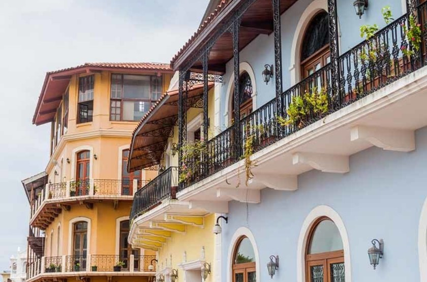 Immeubles coloniaux du centre historique de Panama