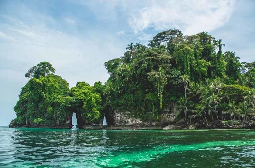 Île aux oiseaux, Bocas del Toro, Panama