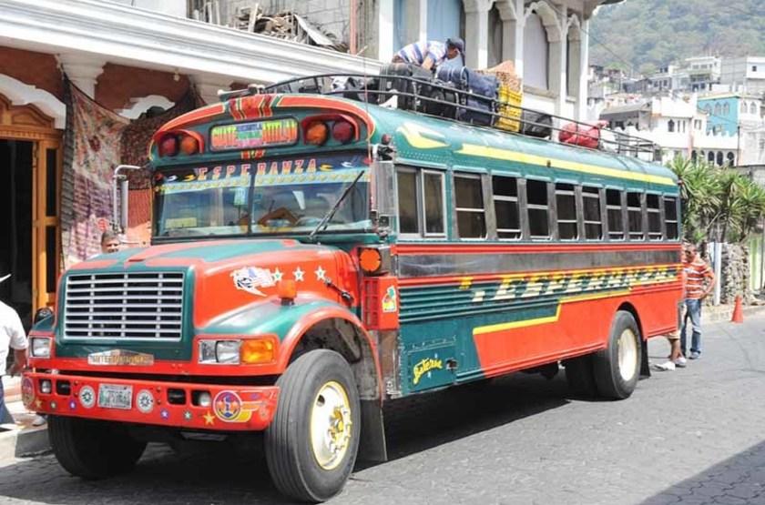 Circuit au Guatemala, Santiago Atitlan