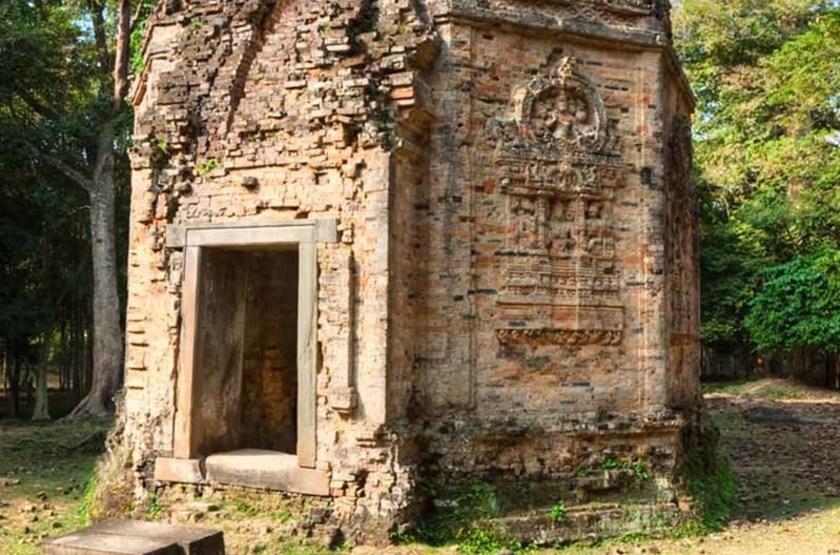 Temple à Sambor Prei Kuk, Cambodge