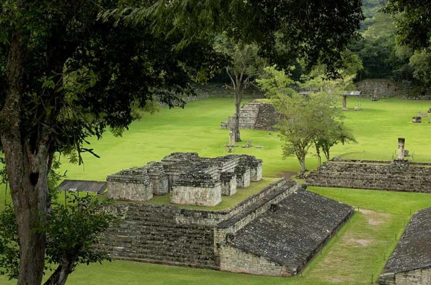 Vestiges Maya à Copan, Honduras